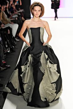 carolina herrera fall2012... love this dress... not that I would ever have anywhere to wear it :)