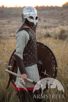 Simple and functional lightweight leather armor. Natural leather, brass rivets and clasps. Norman armor body kit for SCA and historical events