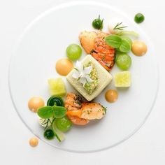 Crayfish | Cucumber | Nage Cube | Dill by @n.henkel Tag your best plating pictures with #armyofchefs to get featured.