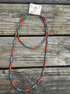 """""""Ole Desert Sunrise"""" Turquoise & Copper Mix Beaded Necklace Set - Desert Sunrise Copper Necklace Set The Effective Pictures We Offer You About modern jewelry A qual - Beaded Jewelry, Silver Jewelry, Fine Jewelry, Jewelry Necklaces, Jewelry Making, Jewellery Box, Making Bracelets, Chain Bracelets, Jewellery Shops"""