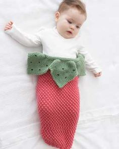 strawberry cocoon pattern