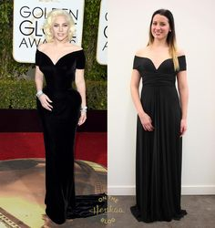 45302ce67172 Steal Her Style: Lady Gaga Golden Globes. Gaga Golden Globes, Versace Dress,  Infinity ...