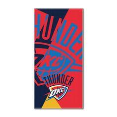 "Thunder National Basketball League, """"Puzzle"""" 34""""x 72"""" Over-sized Beach Towel"
