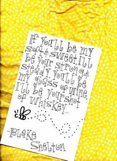 I love Blake Shelton :)