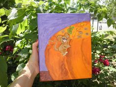 Sneaky Mouse Painting 8x10 Orginal Painting by InspriationWorkshop, $40.00