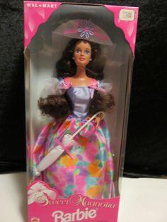 1996 Sweet Magnolia Barbie Walmart Exclusive Special Edition Brunette MINT &NEW  #BarbieDoll