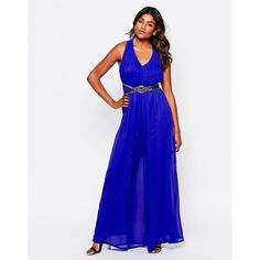 7186ce61b5b7f ... Mistress Mid-weight chiffon Satin lining V-neckline Moulded cups with  light padding Pleated bodice Side zip with hook and eye closure Wide leg  trouser ...