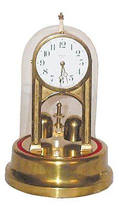 torsion pendulum clock. tiffany electric mfg. co. torsion pendulum clock