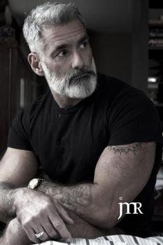 The elder of the Wylde Den crew. Sexy silver fox just might get his own story. #alaskandenmen #wyldeden #paranormalromance