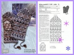 Bilderesultat for idena modell Knitted Mittens Pattern, Crochet Mittens, Knit Crochet, Fair Isles, Textiles, Mitten Gloves, Fingerless Gloves, Arm Warmers, Photo Wall