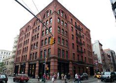 The Mercer Hotel, New York City.