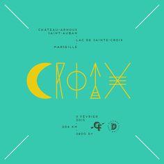 Croix #cyclesfumant #distance #distancecyclingclub #cycling #granfondo #fondoday #adventure #typography #graphicdesign