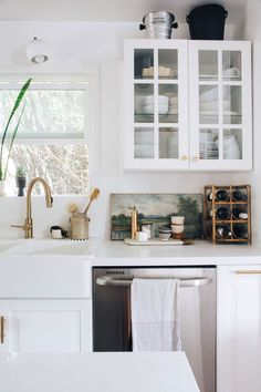 sfgirlbybay kitchen makeover. / sfgirlbybay
