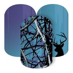 Undertow Blue | Jamberry  See 300+ nail wrap designs and order at: https://jackieshaw.jamberry.com/us/en/