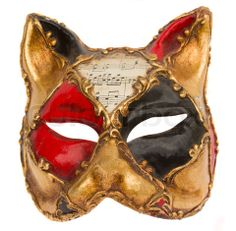 Stock image of 'classical venetian carnival mask isolated on white background'