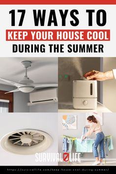 Lower your monthly bills with these practical ways to keep your house cool this summer. #summertips #howtomakeyourhousecool #summer #survivaltips #survival #preparedness #survivallife Survival Life, Survival Prepping, Survival Gear, Survival Skills, Save For House, Make It Yourself, Cool Stuff, Storage, Tips