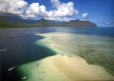 Sandbar Kaneohe Bay, Oahu