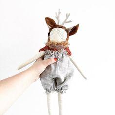 Puppa doll 'Sven' handmade cloth doll puppadolls by poppyandowl