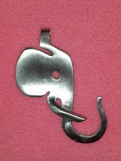 Fork Elephant Necklace