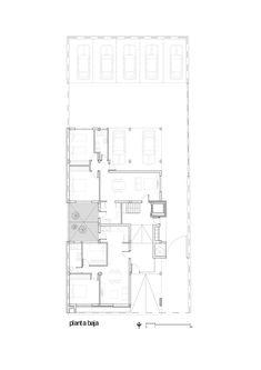 Edificio B928,Planta