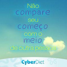 Não se compare a ninguém, cada um tem o seu tempo. http://maisequilibrio.com.br/bem-estar/