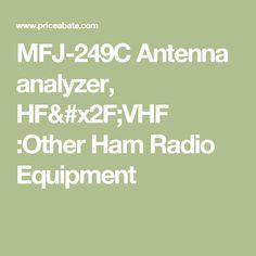 MFJ-249C Antenna analyzer, HF/VHF :Other Ham Radio Equipment