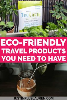 It's easy to upgrade to eco-friendly travel products to do your part. Here are the best environmentally friendly travel products and a list of the best green products you can bring with you on your trips (and use at home!). Eco Travel Products | Eco Travel Kit | Eco Travel Tips | Eco Packing List | Eco Friendly Living | Eco at Home | Ocean Friendly Products | Sustainable Travel | Responsible Travel | Eco Conscious Travel | Eco Conscious Living | Environmentally Friendly Travel Packing Tips For Travel, Travel Advice, Travel Essentials, Packing Lists, Travel Info, Travel Hacks, Budget Travel, Travel Items, Travel Products