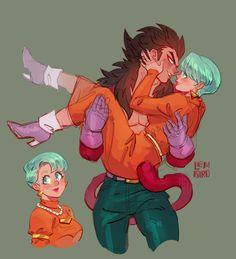 Bulma and Vegeta Vegebul Dbz, Dragon Ball Gt, Dragonball Super, Manga Anime, Anime Art, Anime Costumes, Cosplay, Wattpad, Cute Love