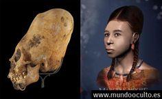 Reconstruyen el rostro de una integrante de la cultura de los cráneos alargados