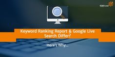 This is one of the most common questions I receive from clients: Why does the keyword ranking report say I'm in position A for this keyword, but when I search Google live for it I'm actually in position B? Here's the answer... via @YEAHLocal