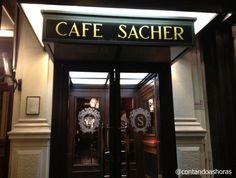 * Café Sacher *  # Viena, Áustria.