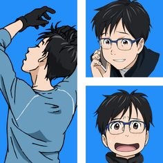 Yuuri Katsuki (Japanese: 勝生 勇利, Katsuki Yūri) is a 24 year-old competitive figure skater and one of the main characters of Yuri!!! on Ice. Yuuri was born in Hasetsu, Saga Prefecture, Kyushu, Japan, where his family owns and operates the last bathhouse inn remaining in town. Yuuri started figure skating as a child at Ice Castle Hasetsu. There, he met his friends, Yuuko and Takeshi. He and Yuuko shared an admiration for the Russian figure skater, Viktor Nikiforov, and they frequently…