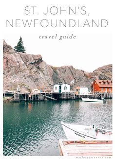 Travel guide & tips to St. John's & Quidi Vidi, Newfoundland. What to do, where to stay, and what restaurants to eat at. Pictured: Quidi Vidi Harbor. (via malloryjstanton.com)