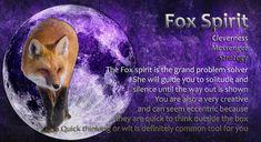 Fox Spirit, Spirit Animal, Quick Thinking, Power Animal, Spirit Guides, Solitude, The Outsiders, Animals, Animales