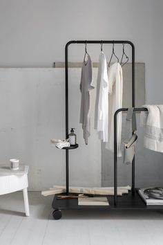 vosgesparis: Styling and clothes rack inspiration from the present and the past