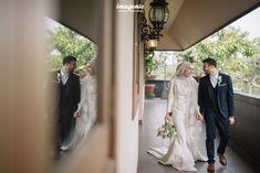 Wedding Farhad and Hamidah by Imagenic - 012 Kebaya Wedding, Muslimah Wedding Dress, Wedding Dresses, Foto Wedding, Dream Wedding, Lace Wedding, Prewedding Hijab, Akad Nikah, Muslim Couples
