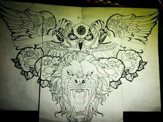 Idea for chest tattoo design