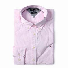 Tommy Hilfiger Long Sleeve Dress Shirts Light Pink Free Shipping Long Sleeve Shirt Dress, Dress Shirts, Tommy Hilfiger Shirts, Dresses With Sleeves, Free Shipping, Mens Tops, Pink, Fashion, Moda