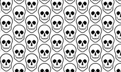 Creepy Black and White pattern