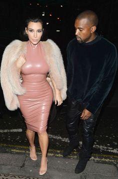 Guess which celeb had an awkward run-in while wearing the same dress as Kim K...