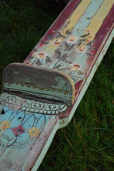 painted teeter totter