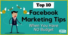 Great blog post at Kim Garst Boom Social - Social Selling Strategies That Actually Work :   As a small business owner, CHEAP is great, but FREE is always best! This post will walk you through 10 free Facebook marketing tips and [..]