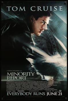 Science Fiction, Fiction Movies, Sci Fi Movies, Mission Impossible Series, Samantha Morton, Max Von Sydow, Minority Report, The Last Samurai, Kino Film