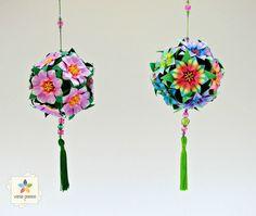 E o que era mini vaso se transformou Origami, Mini Vasos, Art N Craft, Arts And Crafts Projects, Paper Flowers, Paper Art, Mobiles, Math Art, Business Ideas