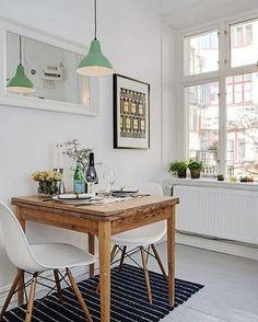 Simplicity! via @alvhemmakleri #simplicity #minimalism #scandinavian #whiteliving #diningroom