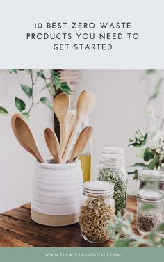 The 10 Best Zero Waste Products You Need To Get Started - Living Less Waste - conscious Stainless Steel Straws, Ceramic Pots, Save Your Money, Cutlery Set, Food Containers, Sustainable Living, Zero Waste, Consciousness, Save Yourself