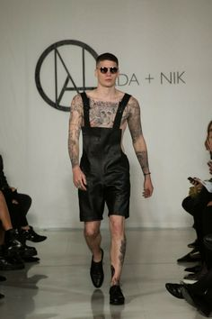 Ada + Nik unveiled its Spring/Summer 2015 collection during London Collections: Men. Best Mens Fashion, High Fashion, Fashion Menswear, Leather Fashion, Fashion Forward, Fashion Photography, Vogue, Summer 2015, Spring Summer