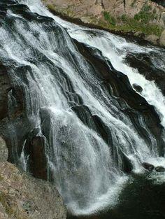 Cascades Over Gibbon Falls