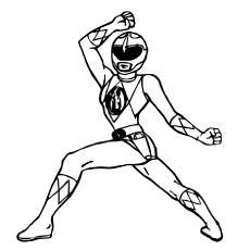 Blue- Power Ranger Coloring Page | Coloring Pages of Epicness ...