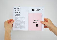 Guide du graphiste en herbe - Mise en page by Marie-France Falardeau, via Behance